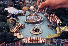 1970's Dumbo Circus concept for Disneyland. Never built.