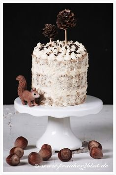 Hazelnut Chase Cake – Frau Herzblut is one of my latest blog-discoveries! Her stunning series of photos show so much love for food! I bet they are super time-consuming!