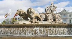 La famosa Fuente de Cibeles, ubicada en Madrid, España fue cosntruida por el rey Carlos III.