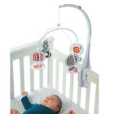 Manhattan Toy Wimmer-Ferguson Infant Stim-Mobile fr Krippen Adventskalender Baby White Baby Cribs, Best Baby Cribs, Best Baby Mobile, Manhattan, Baby Vision, High Contrast Images, Developmental Toys, Baby Nursery Decor, Nursery Mobiles