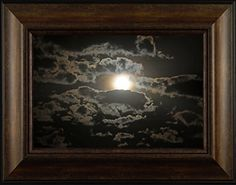Night Glow By Todd Thunstedt 20x26 Moon Moonscape Lunar Solar Eclipse Beach Palm Trees Ocean Sea Night Clouds Nautical Heavens Midnight Framed Art Print Wall Décor Picture ThunderMark Art and Graphics http://www.amazon.com/dp/B014BVPA9Y/ref=cm_sw_r_pi_dp_-B64vb0TSPKCG