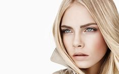 burberry1 Cara Delevingne for Burberry Beauty Spring 2011 Campaign