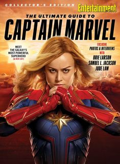 "Read ""Entertainment Weekly The Ultimate Guide to Captain Marvel"" by The Editors of Entertainment Weekly available from Rakuten Kobo. Entertainment Weekly Magazine presents Captain Marvel. Marvel Comics, Marvel Fan, Marvel Heroes, Marvel Avengers, Captain Marvel Female, Marvel Women, Marvel Girls, Brie Larson, Thor"