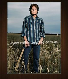 John Fogerty, Music Documentaries, Creedence Clearwater Revival, Men Casual, Oil, Drawing, Concert, Canvas, Mens Tops