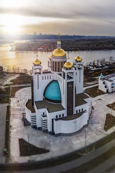 Patriarchal Cathedral of the Resurrection of Christ in Kyiv, Ukraine