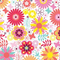 Camelot fabrics Itty Bitty Collection Flowers on by MyHeartandSew, $9.25  https://www.etsy.com/listing/173916612/camelot-fabrics-itty-bitty-collection?ref=listing-2