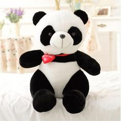 3D Panda plush toys for girlfriend cartoon animal plush doll pillow