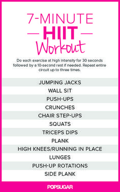 This 7-Minute Workout