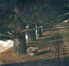 Andrew Wyeth Pine Baron 1976