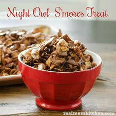 Night Owl Smores Treat | realmomkitchen.com