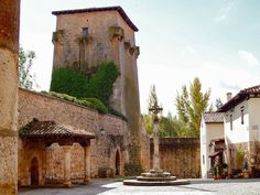 Medievil village in the south of Spain
