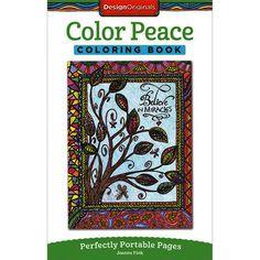 Design Originals Color Peace Coloring Book