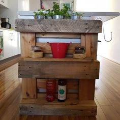 Pallet Kitchen Shelf Ideas