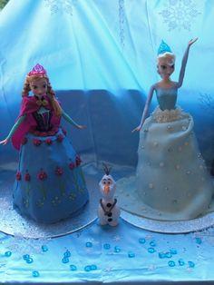 DisneyFrozen birthday cakes