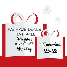 25% Off Holiday Items 20% Regular Priced Items PLUS a Secret Santa Insider Sale! These #BlackFriday #SuperSaturday and #CyberMonday Deals are coming to you next WEDNESDAY NOV. 23 at #ParamountBeauty! Stay Tuned!