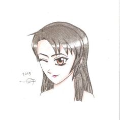 #winky_face #manga #drawing by me.. ^^