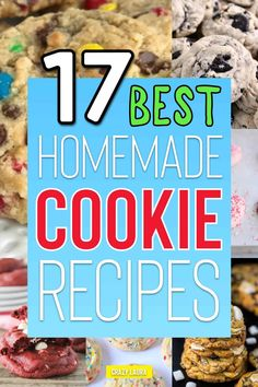 Want to change things up next time you're baking cookies for the family? Check out these 17 delicious recipe ideas for inspiration! Best Homemade Cookie Recipe, Fall Cookie Recipes, Cookie Dough Recipes, Homemade Cookies, Cookie Desserts, Dessert Recipes, Cinnamon Roll Cookies, Spice Cookies, Baking Cookies