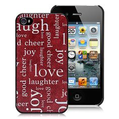Love, laughter, joy, happiness iPhone case  #cool #iPhone  #cases #back #covers #awesome #cheap #free #shipping #fashion #phone #accessories