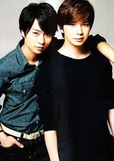 Sho Sakurai and Jun Matumoto of Arashi