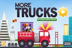 Four playful vehicle-related games are ideal for making any long trip seem short. #Apps