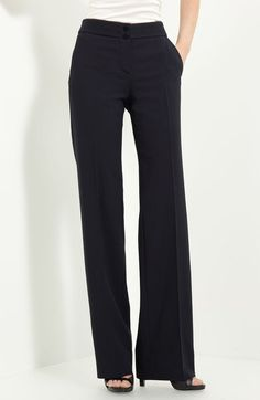 Loves the cut,every woman must have item! Armani Pants Featherweight Suiting