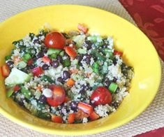 I loved quinoa. The link offers a lot of lovely recipies.