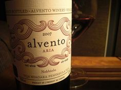 lovely with a red meat meal.  Alvento Ari 2007.
