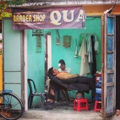 Barbershop, Hoi An, Vietnam
