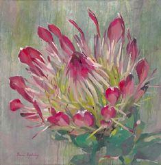 paintings Acrylic Flowers, Watercolor Flowers, Watercolor Art, Painting Flowers, Plant Painting, Painting & Drawing, Flower Crafts, Flower Art, Art Flowers