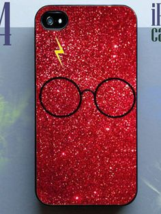 Harry potter phone case | Harry Potter Glitter Phone Case.I WANZ!!!!!!!