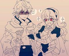 Robin and Kamui