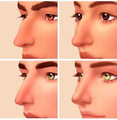 roman and greek nose presets by squeamishsims hello a lovely anon asked for a greek nose preset and i decided to make a roman one too! Los Sims 4 Mods, Sims 4 Body Mods, Sims 4 Game Mods, Sims 4 Cc Packs, Sims 4 Mm Cc, Sims Four, Sims 4 Cas, My Sims, The Sims 4 Skin