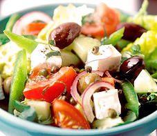 Salada Grega - Cozinha Rápida
