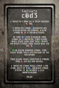 1 Minute Code App -
