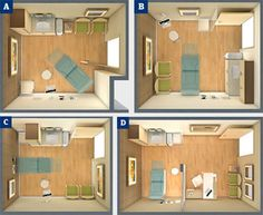 exam room layout - Google Search
