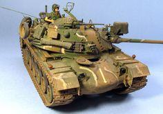 M48A3K 1/35 Scale Model