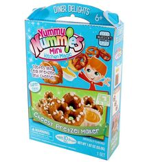 Yummy Nummies Pretzel Maker Kids Crafts Boys Girls Cooking Set Little Chef New…
