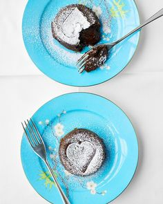 Molten Mocha Cakes - This recipe was easy, fast, and DELICIOUS! I left out the espresso powder and served with ice cream. Perfect! My husband was sad it only made two servings. :)