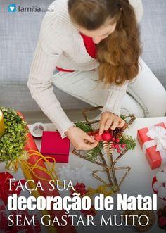 Ideias simples de decoração de Natal