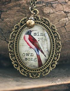 Sing Your Own Song Necklace
