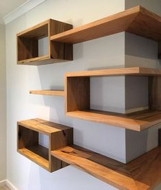 Whether you need something for storage or you want to add a bit to your décor, shelves are the perfect solution. #homedecor #DIYandcrafts #wallshelves #cornershelves