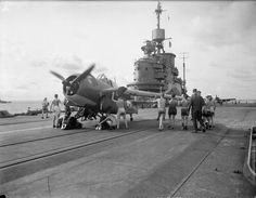 British Aircraft Carrier, Royal Navy Aircraft Carriers, Grumman Aircraft, Flight Deck, Fighter Jets, Military, Evolution, Deck Party, Arm