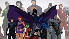 Image result for justice league vs teen titans trailer