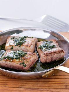 Herby Tuna Steaks