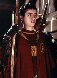 Oliver Wood - Head of Gryffindor Quidditch Team