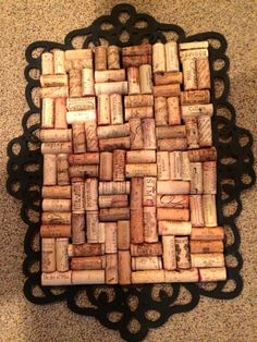 Wine Cork Board- TheDIYDiva