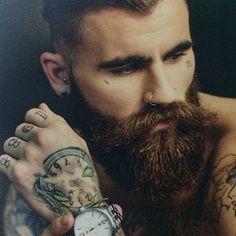 Chris Perceval beard