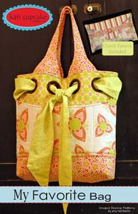 All the rage on Two Peas. Amy and I are going to attempt this bag  ETA: Made it and her pattern rocks. Super easy to follow!