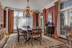 The charm of a formal dining room #dreamhome #diningroomideas
