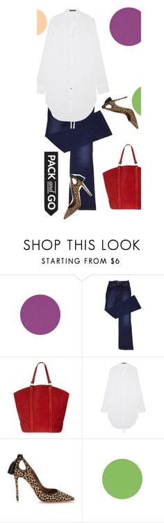 """Pack and Go: Labor Day"" by pattykake ❤ liked on Polyvore featuring ESCADA, Guidi, Ann Demeulemeester, Aquazzura, Packandgo and laborday"